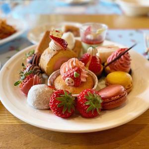 神戸ポートピアホテル『神戸いちごコレクション2020~いちご畑の甘い夢~』SOCOにて♪