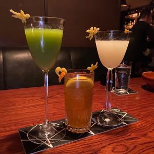 ハートと天使の切り抜きが素敵なフルーツカクテル『BAR BARNS』・・・名古屋 伏見
