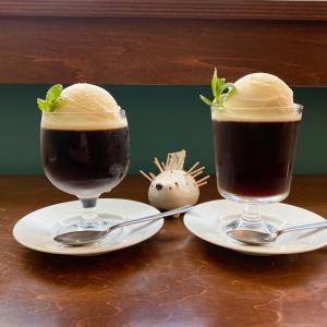 昭和レトロなビルで皆んなが注文する珈琲ゼリー『CAFE Zoe』・・・神戸三宮