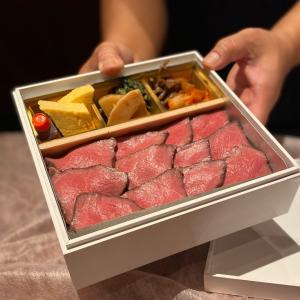 高級ローストビーフ重をテイクアウトやデリバリー開始『肉 阿久(あきゅう)』・・・苦楽園~夙川