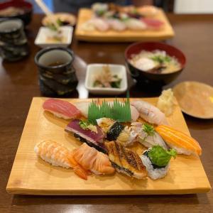 健康診断後の腹ペコはやっぱりお寿司食べたい『すし雅』・・・JR尼崎