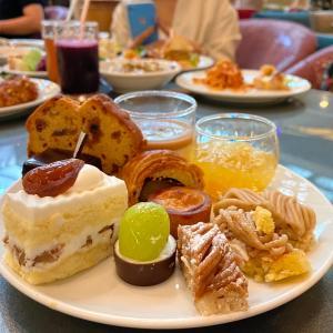 今年も食べ比べモンブラン~秋のスイーツビュッフェ『SATUKI LOUNGE』ニューオータニ大阪