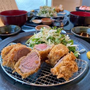 イブ美豚とんかつランチを食べログGoToで予約『しゃぶしゃぶすき焼き はるな』・・・西天満