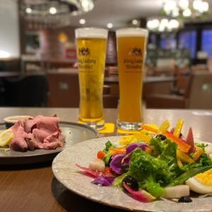 ベルギービールとソーセージ食べ放題とキャビア掛け放題のパスタ『フランダーステイル』西梅田