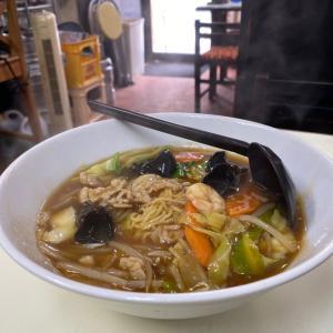 熱々が美味しいB級グルメ『中華料理 天遊』尼崎チャンポンと辛麻婆・・・尼崎