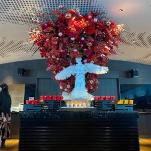 2021ピンク色のメニューがお洒落『アートホテル大阪ベイタワースカイビュッフェ51』弁天町
