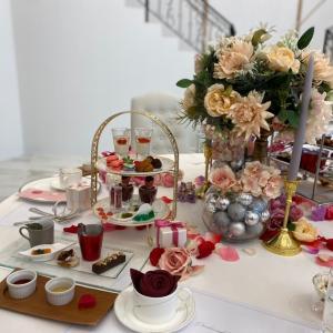 結婚式チャペルで楽しむアフタヌーンティーセット『カフェ トニー ガーデン』大阪本町