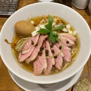 夏限定メニューの冷やし鴨そばが食べたくて『本町製麺所 中華そば工房』・・堺筋本町