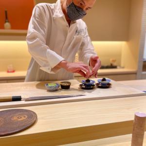 繊細で儚い素晴らしいお鮨ディナーは粋だった・・夏の思い出『鮨徳』京都七條