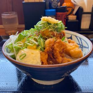 人気歴代No.1メニューが期間限定で販売中!『丸亀製麺』・・初めて食べました