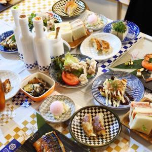 勘田亀吉の燻製燻菓を試食会イベントで頂いたもの~♪会場は「サーモンベーネ梅田茶屋町店」