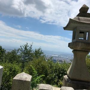猛暑日の六甲山最高峰(この日のハイライトはどこ?)