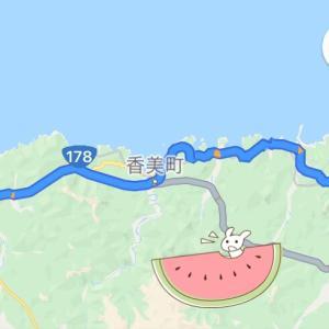 兵庫県最北端ジオパークを往復走ってきた☆②写真に映りこんだ正体はなに?