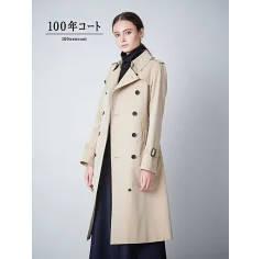小林麻耶さんが雑誌『ミモレ』で着ていた衣装のトレンチコートはコレ!