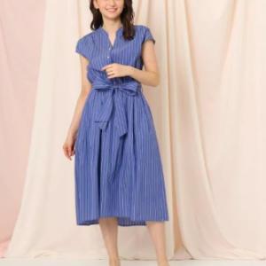 『ZIP』徳島えりかアナが着ていた衣装のシャツワンピースはコレ!