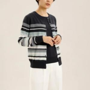 久冨慶子アナが『グッドモーニング』で着ていた衣装のボーダーのカーディガンはコレ!