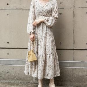 セントフォースキャスター・皆藤愛子さんが『競馬中継』で着ていたランダのワンピース