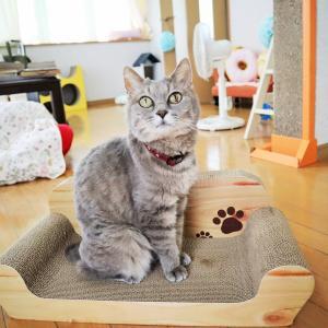 猫ちゃん大好きつめとぎを買ったのよ