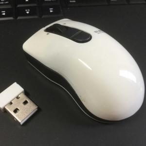 エレコムのレーザーセンサー方式マウス モデル:M-BG3DLWH