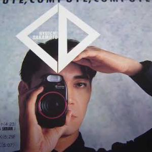 【坂本 龍一】(さかもと りゅういち、Sakamoto Ryūichi)「COMPUTE, COMPUTE, COMPUTE」/3倍ズーム・一眼コンパクト 京セラ「SAMURAI」