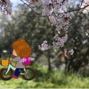 自転車をリニューアル。