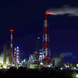 久しぶりの工場夜景。