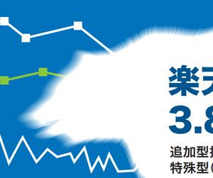 株式では最大レバレッジ!楽天日本株3.8倍ベアの評価・解説