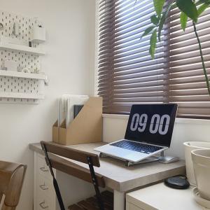 壁に収納を作る <IKEAの有孔ボードを使った文房具収納>