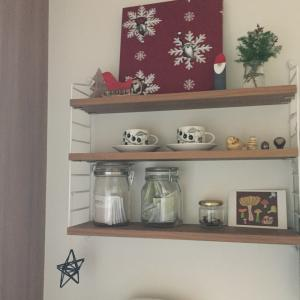 キッチンもちょっとだけクリスマス