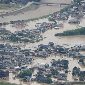 豪雨被害にあわれた方々に、心からお見舞いを申し上げます。