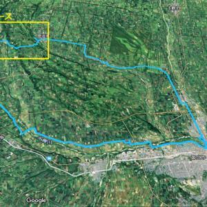 新得方面へのライド 途中を飛ばし 新得ー鹿追間の記録