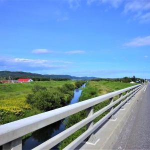 午後のサイクリング散歩 池田町川合大橋あたり