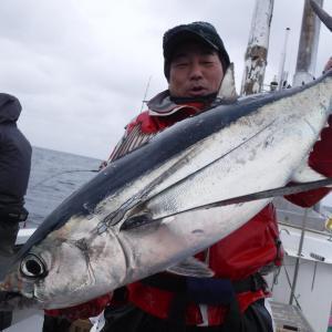 2021年初釣り トンジギ1回戦