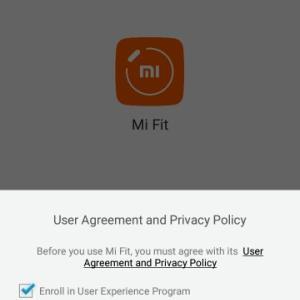 【健康】小米科技(シャオミ:Xiaomi)のmiband2の接続設定。【その③】