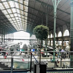 パリ旅行の記録③ロンドンとサボテンのプランター