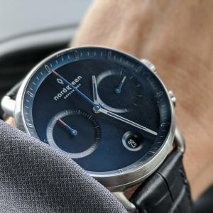 おしゃれでスタイリッシュな北欧腕時計「ノードグリーン パイオニア」の口コミと追加レビュー