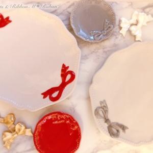 アナ雪2&リボンが可愛い食器