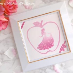 【ポーセラーツインストラクター課題】白雪姫のタイルアート