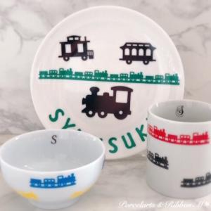 電車好きの息子さんのために♡ママが作る世界に一つだけの食器