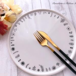 食欲の秋♡実りの秋の食卓を彩るポーセラーツの食器