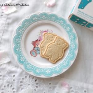 可愛いクマのクッキーでレッスンスイーツ♡