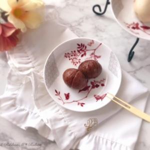 ポーセラーツの食器で楽しむ秋の味覚
