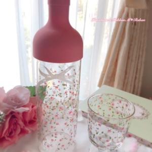可愛い♡ラデュレ風フィルターインボトル&グラス / おいしい秋みつけた