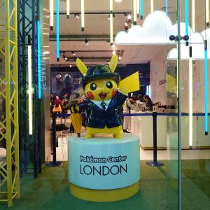 期間限定でオープンした『ポケモンセンター・ロンドン』に行ってみたけど
