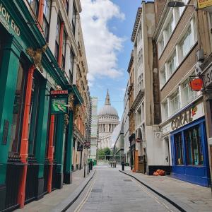 4か月ぶりにロンドンの中心地を歩いてみた