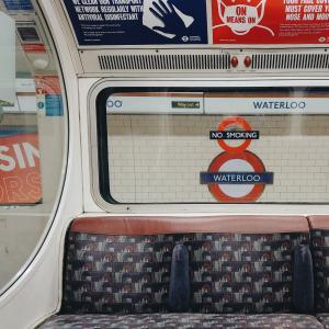 4か月ぶりに電車に乗って、4か月ぶりにロンドン中心地へ