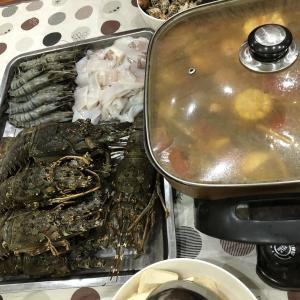 【ブログ】豪華な夕食(@^^)/~~~