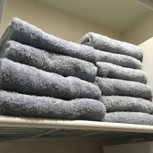 タオルの畳み方変更ですっきり!