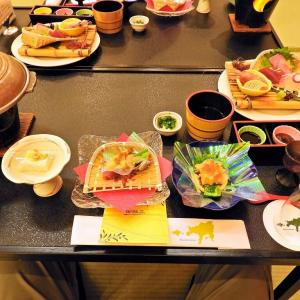 """たび丸ツアー """" 小豆島の旅 """" 5 小豆島国際ホテルの夕食"""