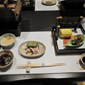 奈良町家 和鹿彩(わかさ)別邸の夕食 @ 奈良市北半田東町1